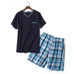 short pajama sets men - Narvay.com