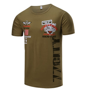 Military Style T-shirts For Men