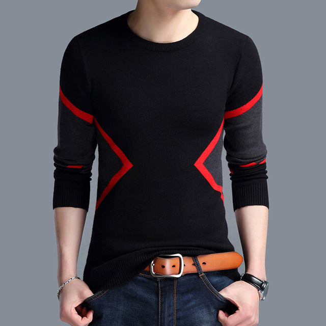 Men's Sweaters Breathable Slim Fit