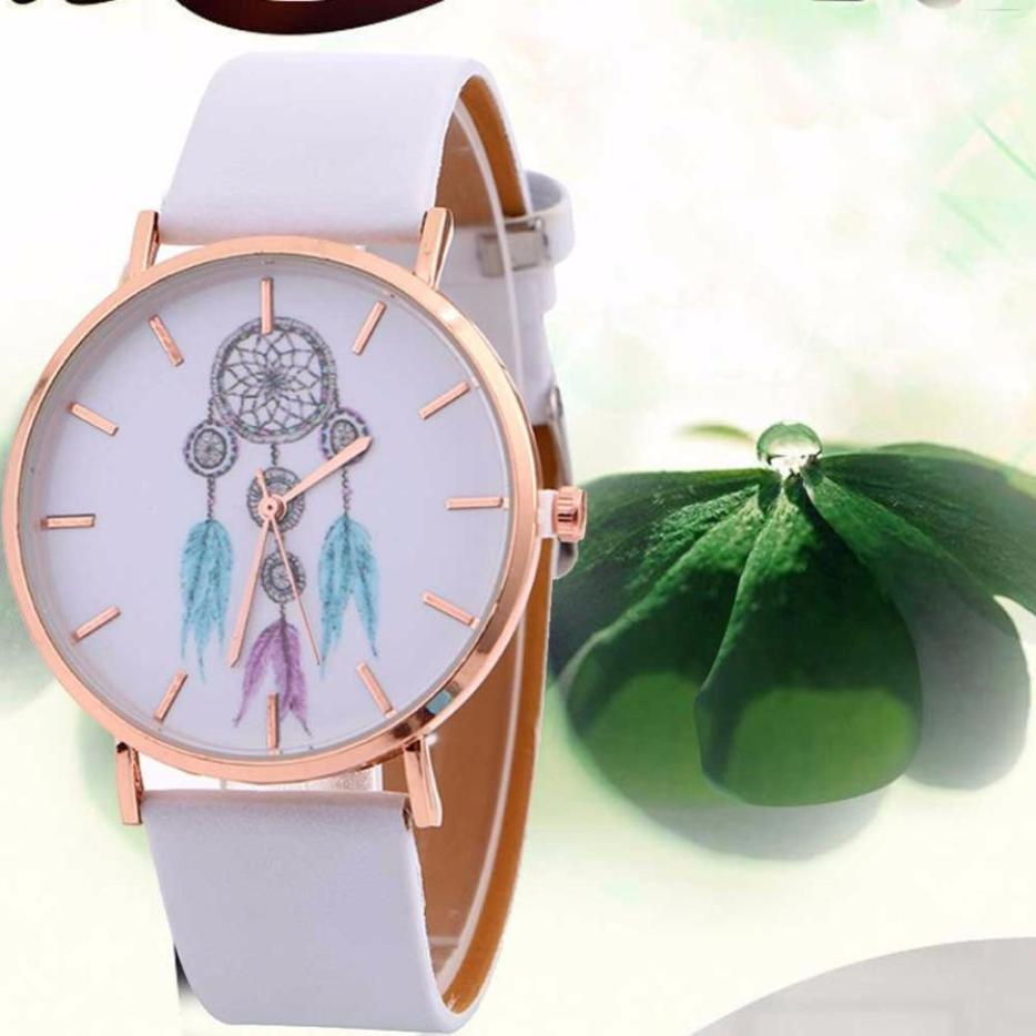 Catcher Pattern Watch Luxury PU Leather