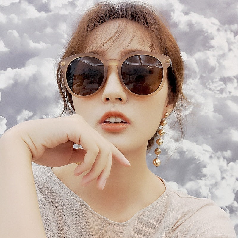 New Arrival Round Sunglasses Retro women