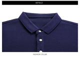 Polo Shirt Men Turndown collar