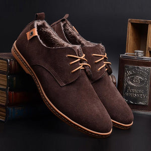 Ankle snow boots men - Narvay.com