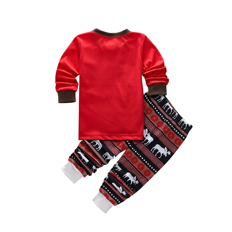 Christmas Family Pajamas Outfit Winter