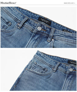 Jeans Men Classical Jean High - Narvay.com