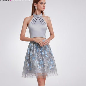 Lace Two Pieces Homecoming Dresses - Narvay.com