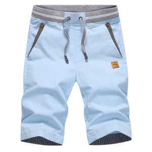 summer solid casual shorts men cargo - Narvay.com