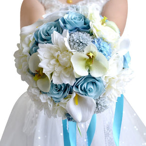 Wedding Bouquet The Bride Married Holding