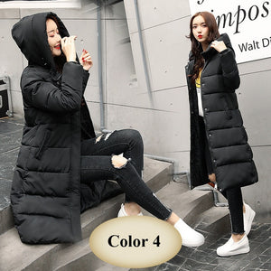 Female Jacket Coat Slim Warm Winter Outwear