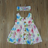 Baby Girl Floral tank dress