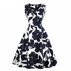 print elegant homecoming dress