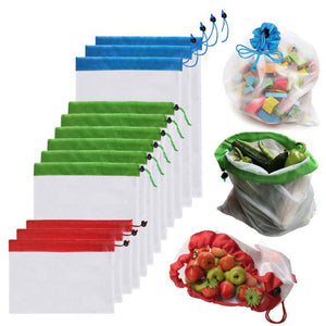 5pcs Reusable Mesh Bags
