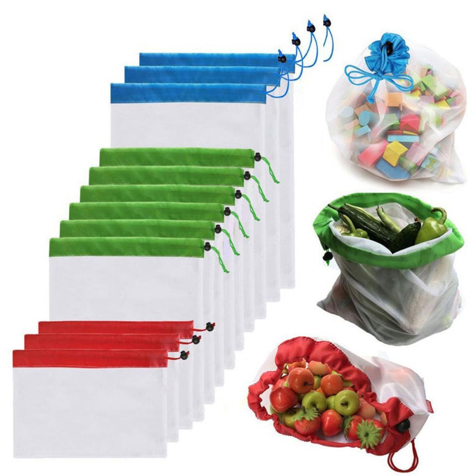 5pcs Reusable Mesh Bags - Narvay.com