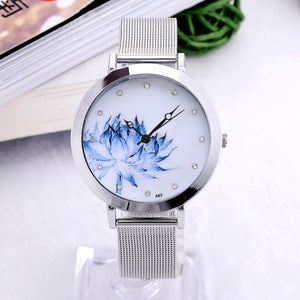 Stainless Steel Butterfly Watches