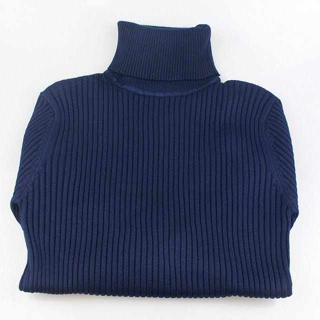 High Elasticity Soft Female Pullovers Sweater