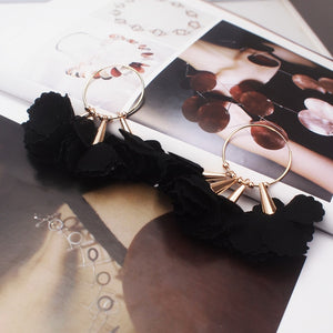 Flower Big Earring For Women