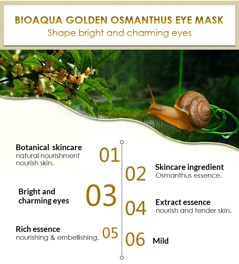 Gold Eye Mask