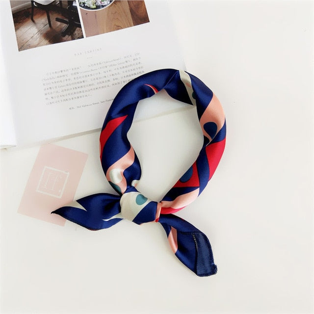 Scarf Hair Tie Band For Business Party