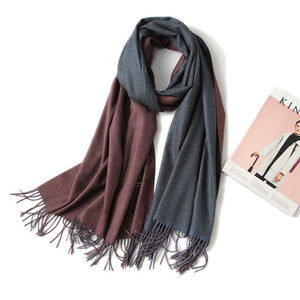 winter women scarf fashion solid soft