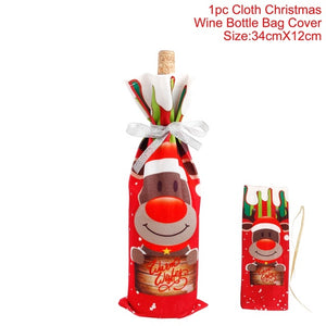 Santa Claus Wine Bottle Cover - Narvay.com