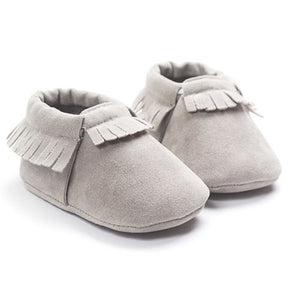 Suede Baby Moccasins Baby Girl Toddler Infant Toddler Crib Shoes