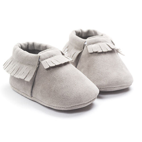 0acf1c680cbc2 Suede Baby Moccasins Baby Girl Toddler Infant Toddler Crib Shoes