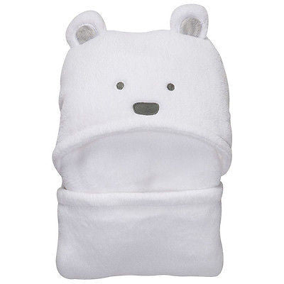 Super Soft Animal Shape Baby Hooded Bathrobe