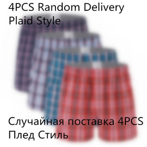 classic Boxers Cotton Men Underwear