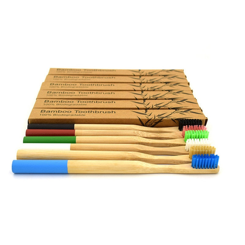 Bamboo Toothbrush - Narvay.com