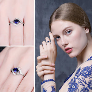 Sapphire Statement Ring - Narvay.com