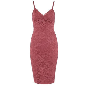 Midi Lace Club Dress