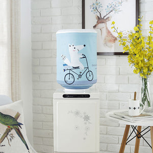 Printed Cartoon Animal Cloth Art Drinking