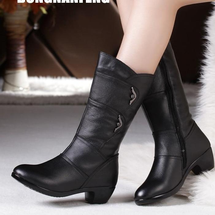Ladies Shoes Boots Zip