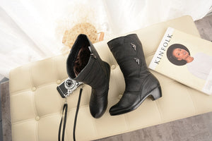 Ladies Shoes Boots Zip - Narvay.com