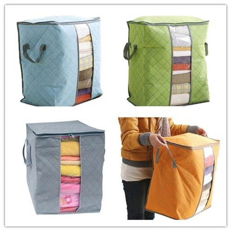 Bamboo Charcoal Clothes Storage Bag - Narvay.com