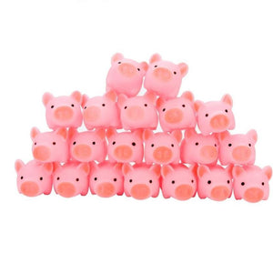 Rubber Pig Baby Bath Toy 20 PCS Pack