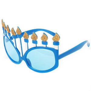 Funny Hanukkah Ornaments Costume Glasses