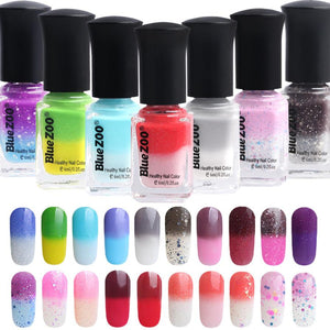 Amazing Temperature Change Nail Polish