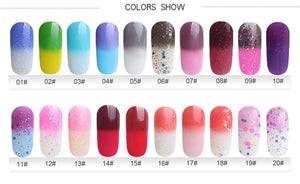 Amazing Temperature Change Nail Polish - Narvay.com