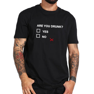 Are You Drunk? Men's T-shirt - Narvay.com