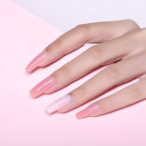Pink Nude Nail Quick Building Poly Gel
