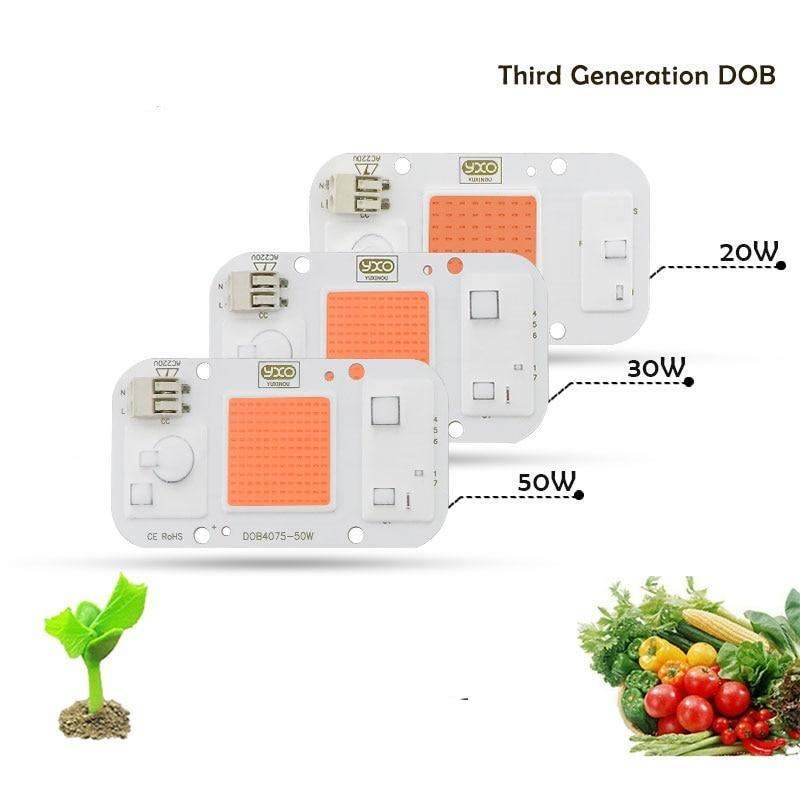 Hydroponice cob led grow light chip