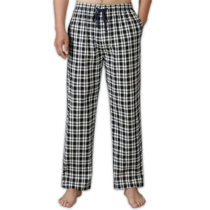casual plaid sleep bottoms men