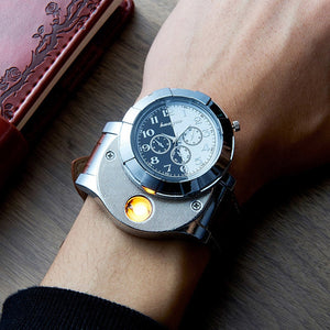 Cigarette Lighter Men's Watches