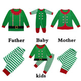 Cool Family Christmas Pajamas Long Sleeve T-shirts