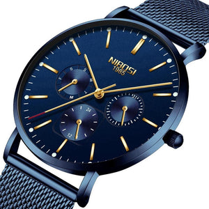Minimalist Wrist Watch For Men Sport Watch Clock