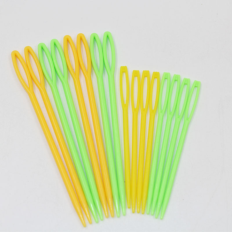 Plastic Knitting Needles Seam Sewing Tool