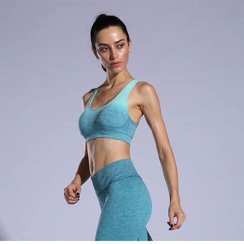 Women's Sports Bra Active Wear For Gym