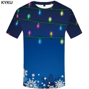 Christmas Men Print T-shirt
