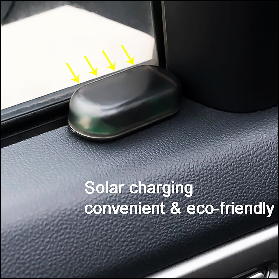 Universal Car Fake Solar Power Alarm